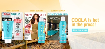press_rotator COOLA SUNCARE BLUE BUNGALOW SPA ROCKAWAY PARK NY